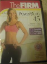 The Firm Powerburn 45 Workout Fitness Exercise DVD New Cardio Inferno Slimdown +