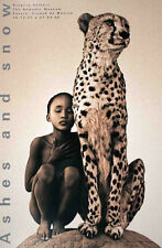 GREGORY COLBERT - Child with Cheetah Mexico City 36x24 Photo Art Print Poster