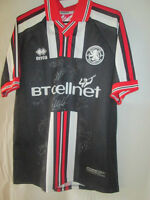 Middlesbrough Away Football Shirt Signed by 2000-2001 Squad with COA  /9393