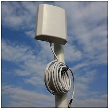 10dBi Wimax 2.3~2.7G Wireless Panel Antenna RP-SMA 5M/16Ft Line RLKP-2327-D10L5