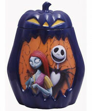 A Nightmare Before Christmas  Jack & Sally Ceramic Cookie Jar, NEW UNUSED