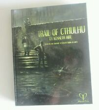 Trail of cthulhu. Call of cthulhu CoC horror roleplaying book Kenneth hite