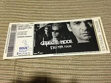 DEPECHE MODE SPANISH CONCERT TICKET UNUSED 2001 EXCITER TOUR BARCELONA PALAU