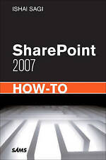 SharePoint 2007 How-to (Sams How-To),GOOD Book