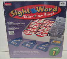 Sight Word Take Home Rings Level 1 Lakeshore learning School Ages 5+ Imperfect