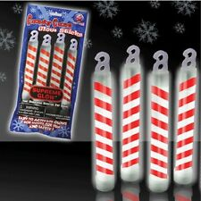 Candy Cane Glow Sticks Light Up Rave Party Accessory