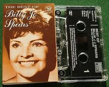 Billie Jo Spears Best Of inc Snowbird & True Love + Cassette Tape - TESTED