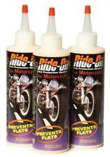 Three Bottles RideOn Motorcycle Tire Sealant Harley Suzuki Kawasaki Honda Yamaha