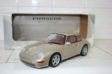 1:18 UT Models Porsche 911 993 Carrera Gold Met