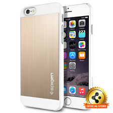 [Spigen Factory Outlet] Apple iPhone 6 / 6S Case Aluminum Fit Champagne Gold