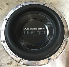 """New Old School Audiobahn AWIS10P 10"""" Immortal Competition Subwoofer,Rare"""