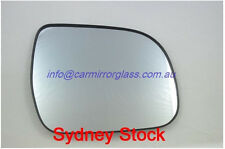 RIGHT DRIVER SIDE TOYOTA TARAGO 2006 ONWARD MIRROR GLASS WITH BASE