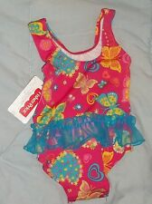 NEW FISHER PRICE SWIMSUIT INFANT GIRLS SIZE 12 MO'S............
