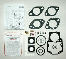 1963-69 Ford & Mercury Autolite CARBURETOR 1-V 1100 & 1101 Overhaul/Rebuild Kit