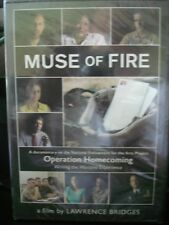 """2007 Documentary Operation Homecoming """"Muse of Fire""""DVD"""