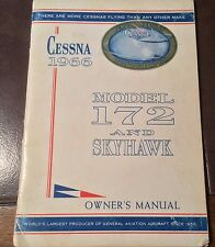 1966 Cessna 172 and Skyhawk Owner's Manual