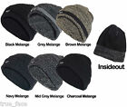 New Mens Thinsulate Knitted Wooly Chunky Thermal Beanie Outdoor Winter Ski Hat