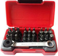 """Teng Werkzeuge TM029 29PC 1/4"""" Antrieb Bit Set mit Ratsche Bit Antrieb 167360106"""