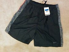 NikeFit Dry - Men's Medium active dry fit shorts (black/grey)