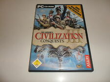 PC Sid Meier 's Civilization III-Conquests