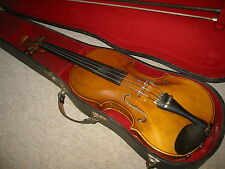 Beautiful old violin Violon , flamed back, high arched Klotz style