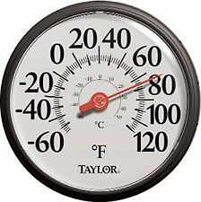 Taylor Precision Products 6700 13.25 Inch Dial Thermometer *