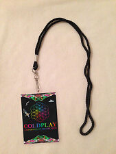 *COLDPLAY A HEAD FULL OF DREAMS TOUR VIP ALL ACCESS BACKSTAGE PASS MEET & GREET*