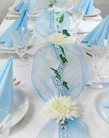 """Komplette Tischdeko für Taufe/Geburt Junge  Fibula[Style]® """"Little Prince"""" Gr. S"""