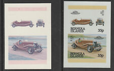 GB Locals - Bernera 3581- 1984 CARS - TWO CROMALINCOLOUR  PROOFS - Du Pont