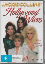 HOLLYWOOD WIVES - JACKIE COLLINS' -  NEW & SEALED REGION 4 DVD FREE LOCAL POST