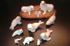 11 Ceramic Porcelain Seal Sealion Figurines HAGEN RENAKER St Helens Living Stone