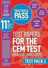 PRACTISE & PASS 11+ CEM DURHAM STYLE TEST PAPERS MULTIPLE CHOICE TEST PACK 2