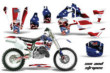 Honda CR500  Graphic Kit AMR Racing Decal Sticker Part CR 500 89-01 SAS