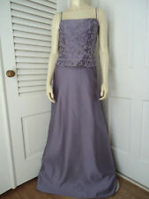ALFRED ANGELO Gown 2 NEW Lilac Beaded Lined Long Dress Prom Wedding Bridesmaid