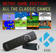 AMAZON FIRE TV STICK RETRO GAMING with KODI SUPERLOADED