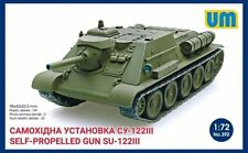 SELF-PROPELLED ARTILLERY GUN SU-122 1/72 UNIMODEL UM 392