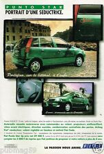 Publicité advertising 1996 Fiat Punto Star