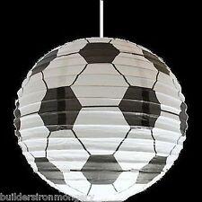 fútbol de niños lámpara colgante de techo pantalla NUEVO EN PAQUETE
