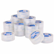 "36 Rolls 2""x110 Yards(330' ft) Box Carton Sealing Packing Package Tape Clear New"