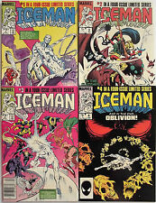 ICEMAN 1,2,3,4 (1-4)...NM-...1984...J.M.DeMatteis...Mike Zeck Covers...Bargain!