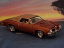 1973 73 PONTIAC GTO 1/64 SCALE COLLECTIBLE DIECAST MODEL DISPLAY OR DIORAMA