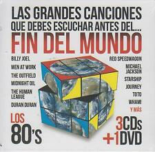 CD - Fin Del Mundo NEW Grandes Canciones Los 80's 3 CD's & 1 DVD FAST SHIPPING !