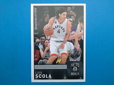 2016-17 Panini NBA Sticker Collection n. 29 Luis Scola Nets Brooklyn