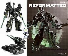 TRANSFORMERS MASTERMIND CREATIONS R-01D TERMINUS HEXATRON SHADOW EMMISSARY MIB