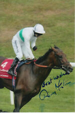 JIMMY FORTUNE LUCARNO HAND SIGNED 6X4 PHOTO ST LEGER STAKES 2007 3.