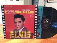 ELVIS PRESLEY: It Happened At the Worlds Fair, RCA, Living Stereo, 1st, OOP LP