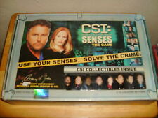 CBS Television Show Game ~ CSI Senses The Game ~ With Collectible Characters