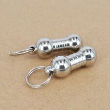 Anti-Lost Pet Dog Cat ID Tags Stainless Steel Name Address Barrel Tube 3# Cute c