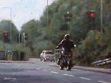 """Original painting direct from Steve Sanderson """"Freedom roads..."""" Northern art"""