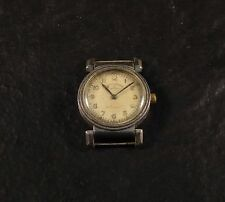 RARE ELECTION FLEXIBLE LUGS MEN´S VINTAGE WRISTWATCH WORKING MISSING PARTS SEE